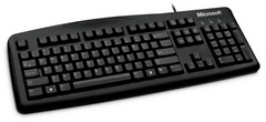 Клавиатура Microsoft Retail Wired Keyboard 200 for Business USB Port Russian 1 License For Business Black (6JH-00019)