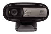 Интернет-камера Logitech WebCam C170 (Black, USB, 640х480, до 30fps, встроенный микрофон, Retail) [ 960-000957 ]